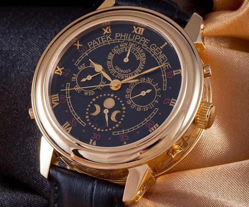 психологи часы patek philippe с лунным календарем морского